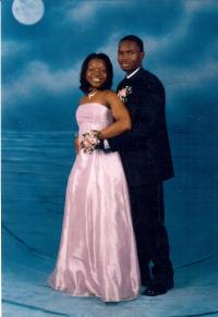 Victor and Malikah Montgomery attended their high school prom together.