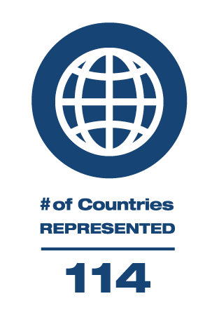 114 Countries Represented