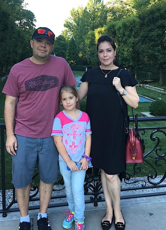 Jose Herrera and family